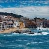 Calella De Palafrugell Coastline - Girona Spain