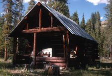 Calfee Creek Patrol Cabin - Yellowstone - USA