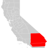 California County Map 2 8 Inland Empire Highlighted 2 9
