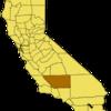 California Map Showing Kern County