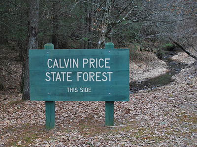 Calvin Price State Forest