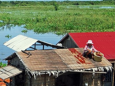 Cambodia Lakes Tonle Sap Lake