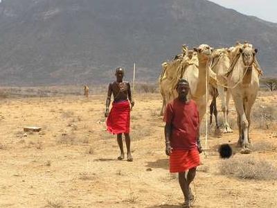 Camel Safari Turkana