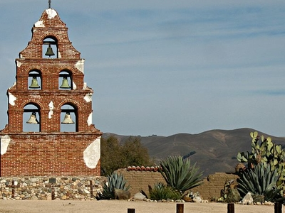Campanille At Mission San Miguel