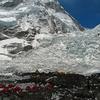 Camp At Khumbu Icefall - Nepal Himalayas