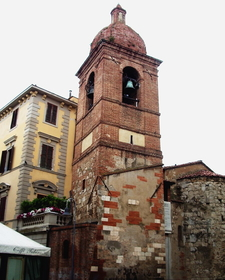 Bell Tower Of The Church Of San Pietro