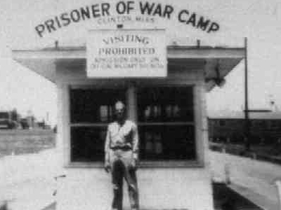 Camp Clinton Gate Then