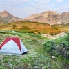 Camping In Medicine Bow Mountains WY