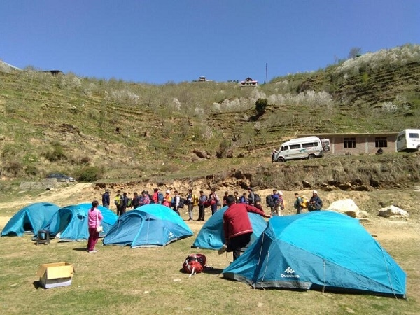 Camping Expeditions at Narkanda Shimla Photos