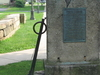 Canal  Monument In  Lock  Haven  Pennsylvania