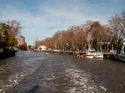 Canals In  Tigre