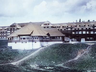 Canyon Hotel - Yellowstone - USA