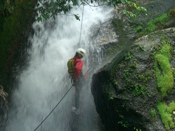 Canyoning in Nepal Photos