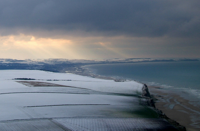 Cap  Blanc  Nez Winter