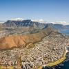 Cape Town Overview With Table Mountain