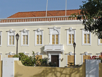 Cape Verde's Presidential Palace.