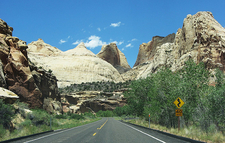 Capitol Dome - Capitol Reef NP