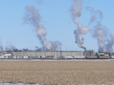 Cargill Beef Processing Plant At Western Edge Of Schuyler