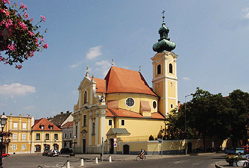 Carmelite Church, Győr