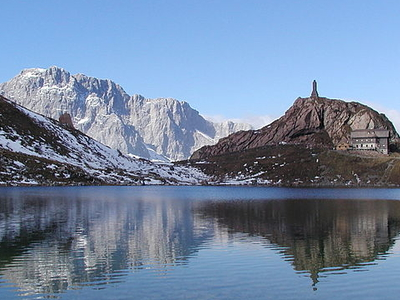 Carnic Alps Volaia Lake