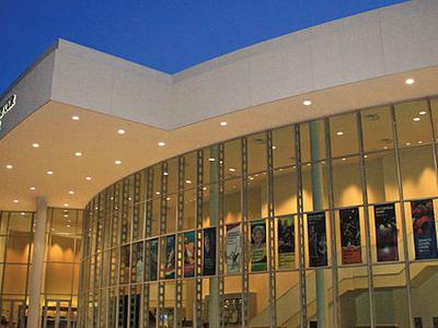 Carpenter Performing Arts Center Exterior