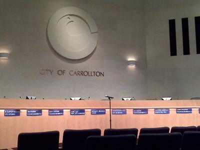 Carrollton  City  Council  Chamber