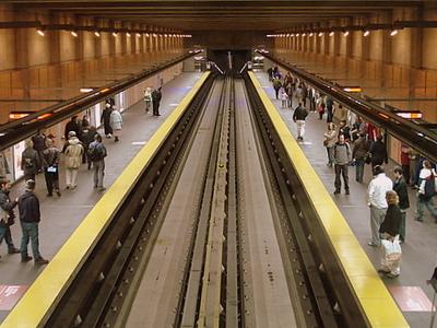 Cartier Metro Station