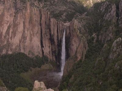 Basaseachic Falls During The Spring