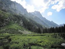 Cascade Canyon Trail Views - Grand Tetons - Wyoming - USA