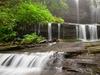 Cascade Falls - Falls Creek - Blue Ridge Mountains NC