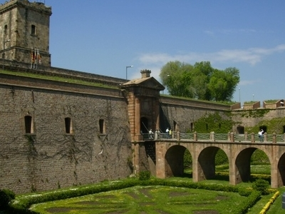 Entrance To Montjuic Castle