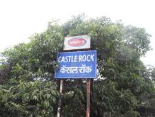 Castle Rock Signpost - Maharashtra - India