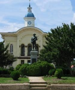 Caswell County Courthouse In Yanceyville
