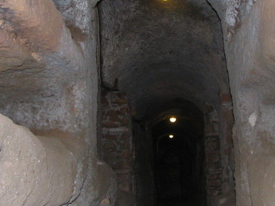 Grave Niches In The Catacomb