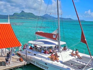 Catamaran Cruises to Isle Aux Cerfs