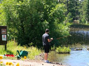 Cataract Lake Campground