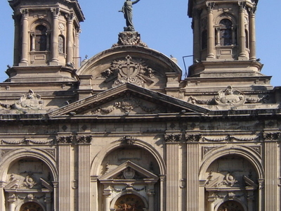 The Metropolitan Cathedral Of Santiago