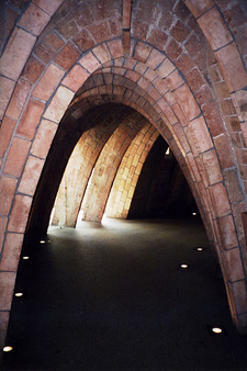 Catenary Arches Under The Terrace