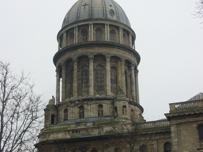 The Cathedral Of Boulogne Towers