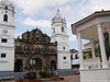 Cathedral & Plaza In Old Panama City