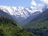 Caucasus View In Svaneti