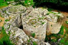 Cave Di Cusa Slabs - Campobello Di Mazara - Sicily - Italy