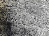 Caverna com inscrições etruscas