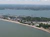 Aerial View Of Cedar Point