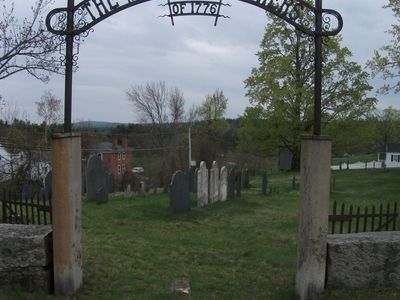 Cemetery In Temple New Hampshire