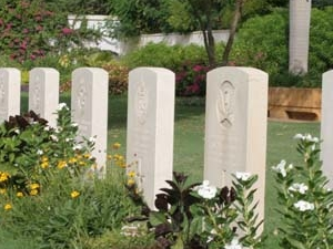 Karachi cementerio de la guerra