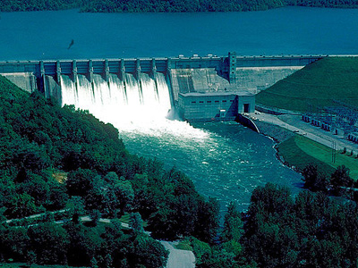 Center Hill Dam And Lake