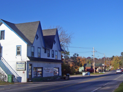 Center Of Town Along Route 209