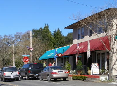 Central Glen Ellen Along Arnold Drive