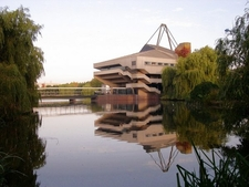 Central Hall And Lake